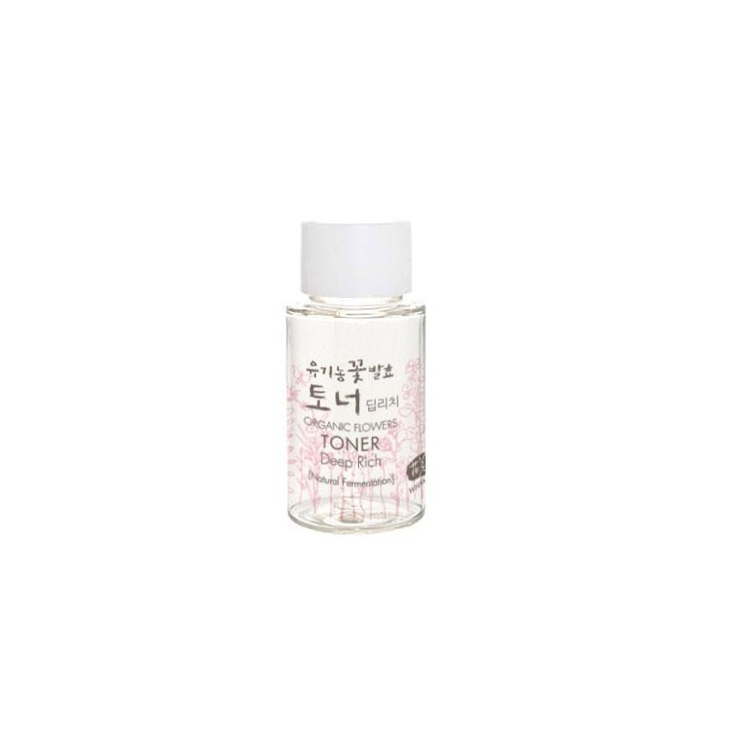 Essence-tonique Deep Rich 20 ml - Organic Flowers Deep Rich Essence Toner